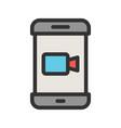 video app vector image vector image
