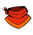 cowboy neckerchief icon icon cartoon vector image