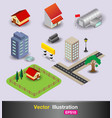3d city object