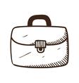 Briefcase portfolio symbol vector image