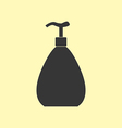 Dispenser bottle icon vector image vector image