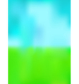 green and blue background vector image vector image