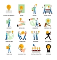 Intellectual Property Icons vector image