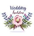 wedding ornament floral decorative elegance vector image vector image