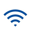 wifi internet isolated icon vector image