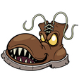 Monster Boots vector image