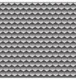 Seamless hexagon pattern vector image