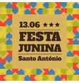 festa junina party vector image