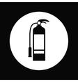 fire extinguisher design vector image vector image
