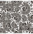 greek key meanders seamless pattern geometric vector image vector image
