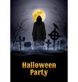 Halloween party vector image vector image