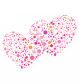 Hearts for Valentines day love vector image vector image