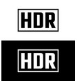 high dynamic range symbol vector image