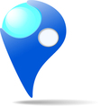 Map marker vector image