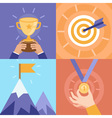 success concepts vector image
