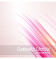Abstract background glow vector image