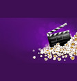 cinematograpy producer vector image vector image