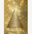 elegant christmas card background with christmas vector image vector image