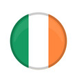 empty ireland campaign button vector image vector image