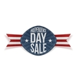Independence Day Sale scratched Banner vector image vector image