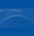 modern background waves vector image vector image