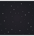 night view stars vector image vector image