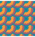 Seamless with vintage pattern vector image