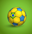 World football championship ball vector image vector image