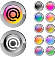 At multicolor round button vector | Price: 1 Credit (USD $1)