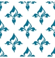 Classical French fleur-de-lis seamless pattern vector image vector image