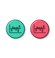 investment chart line icon finance graph vector image