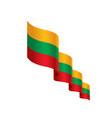 lithuania flag vector image