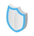 Protection shield isometric 3d icon vector image