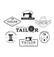 Set fo tailor badge and labes vector image vector image