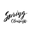 special spring clearance - hand drawn inspiration vector image vector image