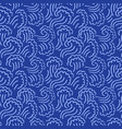 abstract seamless wave pattern waving curling vector image