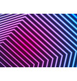 blue ultraviolet neon laser beam lines abstract vector image vector image