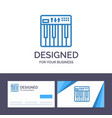 creative business card and logo template vector image vector image