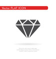 diamond icon for web business finance and vector image vector image