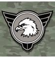 eagle head logo emblem template mascot symbol vector image vector image