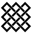 endless celtic knot vector image