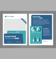 layout template design vector image vector image