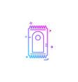 prayer mat icon design vector image vector image
