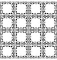 seamless checkered background vintage floral vector image