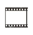 single dia positive 35mm film snip simple black vector image