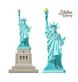 statue liberty liberty vector image vector image