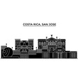 costa rica san jose architecture city vector image vector image