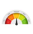 creative rating customer vector image vector image