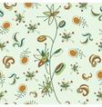 fantastic flower pattern vector image