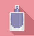 fashion perfume icon flat style vector image